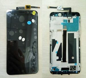 ORIGINAL ZTE BLADE V7 LCD DISPLAY+TOUCH SCREEN DIGITIZER GLASS W FRAME ASSEMBLY
