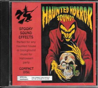 Halloween Horror Music Cd (Halloween Party Haunted Horror Sounds Spooky Sound Effects Music Audio)