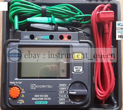 Kyoritsu 3025a High Voltage Insulation Tester 250v500v1000v2500v