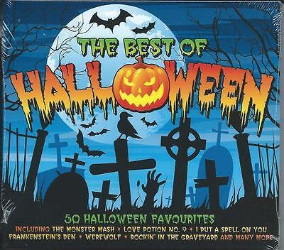 The Best Of Halloween - 50 Halloween Favourites 2CD - Best Rock Halloween Music