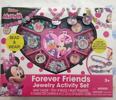 New Disney Junior - Minnie Forever Friends Jewelry Box Activity Best