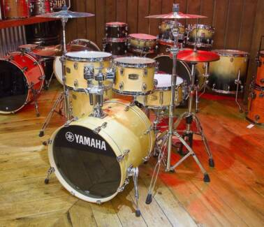 Yamaha 5-piece Stage Custom Drum Kit - incl (Hardware & Cymbals)