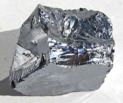Silizium, Silicium mit 99,99% Reinheit, Rohstein, Rohstück 90 g. (F171)