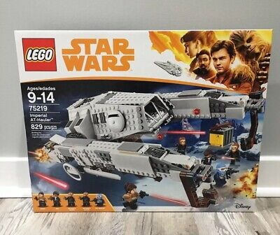 New in Box LEGO Star Wars 75219 Imperial AT-Hauler Qi'Ra MiniFig  (Lego Minifig Box)