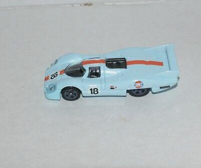 HOTWHEELS GULF PORSCHE 917 LH LEMANS RACER DIE CAST REPLICA