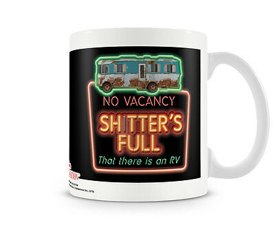Cousin Eddie The Shitter Is Full National Lampoon Kaffee Becher Coffee Mug Tasse