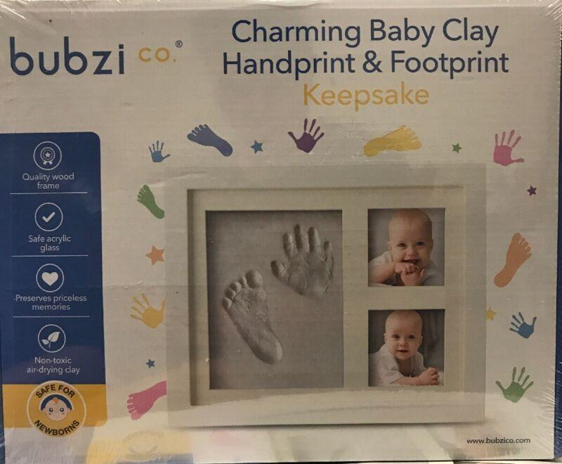 Bubzi Co Baby Handprint Kit & Footprint Keepsake New, Free Shipping