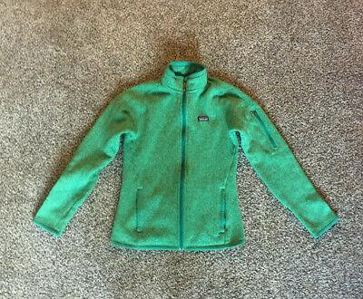 Patagonia Better Sweater Women's Fleece Jacket in Green-S Full