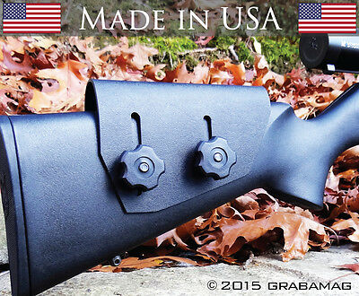 Used, Cheek Rest Black Kydex .093 Razor Rest Tactical and Hunting Rifle Stock Riser ! for sale  USA