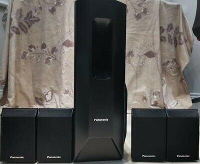 Panasonic Home Cinema Speakers 4 x SB-HS450 and 1 x SB-HW550 BLACK