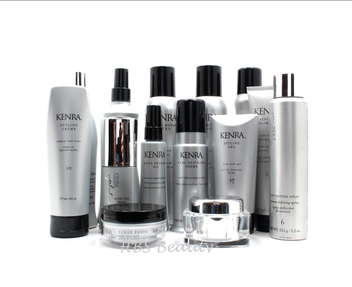 Kenra Styling Products, Hot Spray, Styling GEL, Mousse & Mor