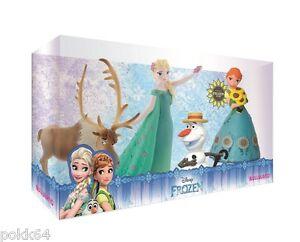 Die Die Die Schneekönigin eine Fest Matt Packung 4 Figuren Elsa Anna Olaf Sven 12084 f9ae5d