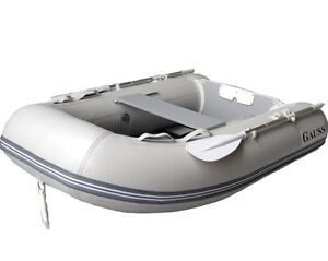 6' GAUSS Dinghy, Tender, Inflatable Boat, Roll up, Pontoon Boat