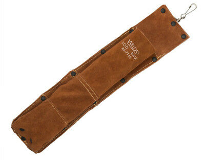 Weldas Welding Rod Holder Leather Electrode Bag - 2.3kg Capacity High Quality