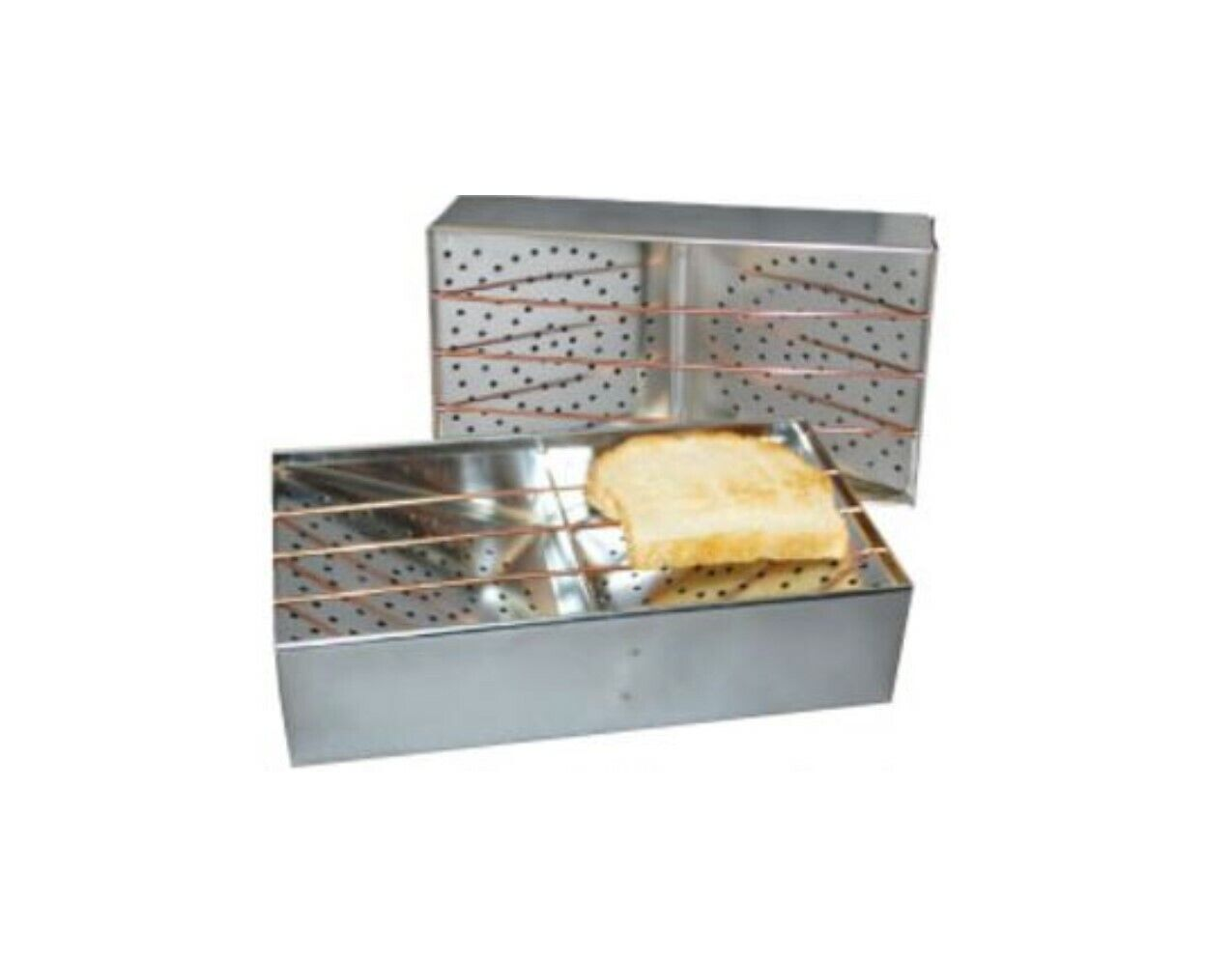 CAMP-A-TOASTER CT-1, Portable Toaster, 9 In. x 5 In. x 2-1/2 In.