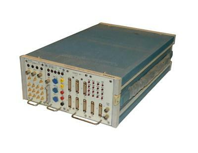 Tektronix Tm504 Power Module With 703t00233 703t00235 And 702t00237 Plug-ins