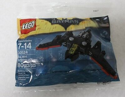 Lego 30524 The Lego Batman Movie The Mini Batwing Polybag 80Pcs New Free Ship
