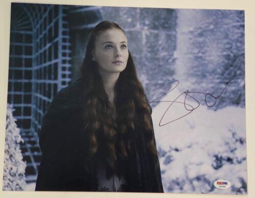 Sophie Turner Signed Autographed 11x14 Photo Game of Thrones Sansa PSA/DNA COA