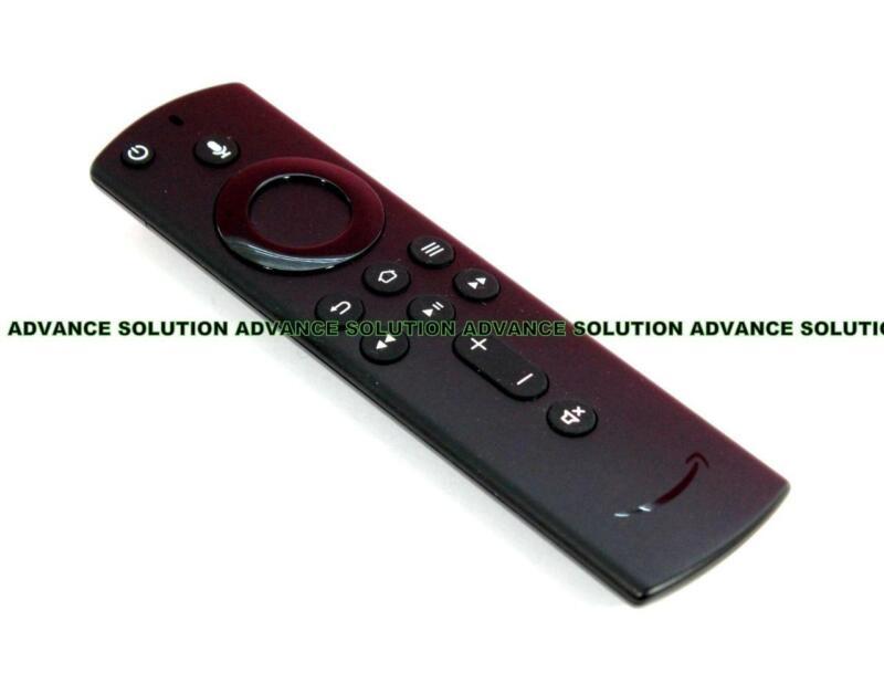 New Amazon Fire TV Stick 4K 2nd Generation Voice Remote Power Volume Controls TV