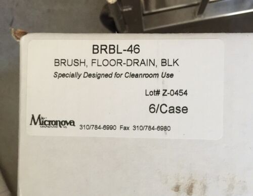 Micronova™ Floor Drain Brush Black-BRBL46- (6/case)