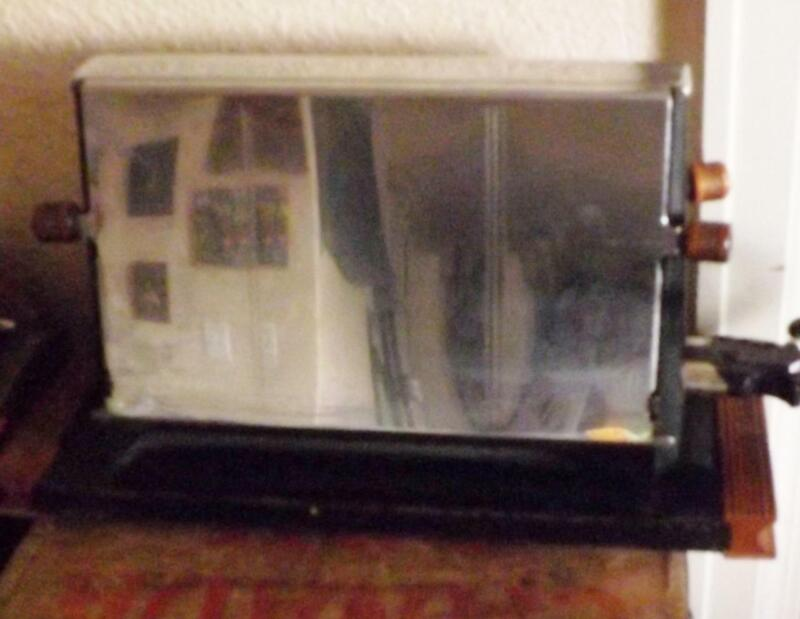 Antique Nelson 410A Side Load 4 Slice Toaster Chrome Electric