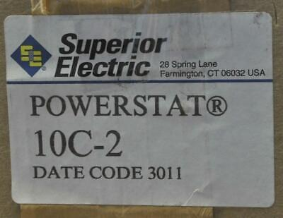 Superior Electric 10c-2 Powerstat Variable Transformer In 120-240v  New