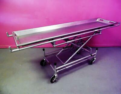 Jewett Cct100 Embalming Transport Autopsy Stretcher Table Cadaver Morgue Gurney