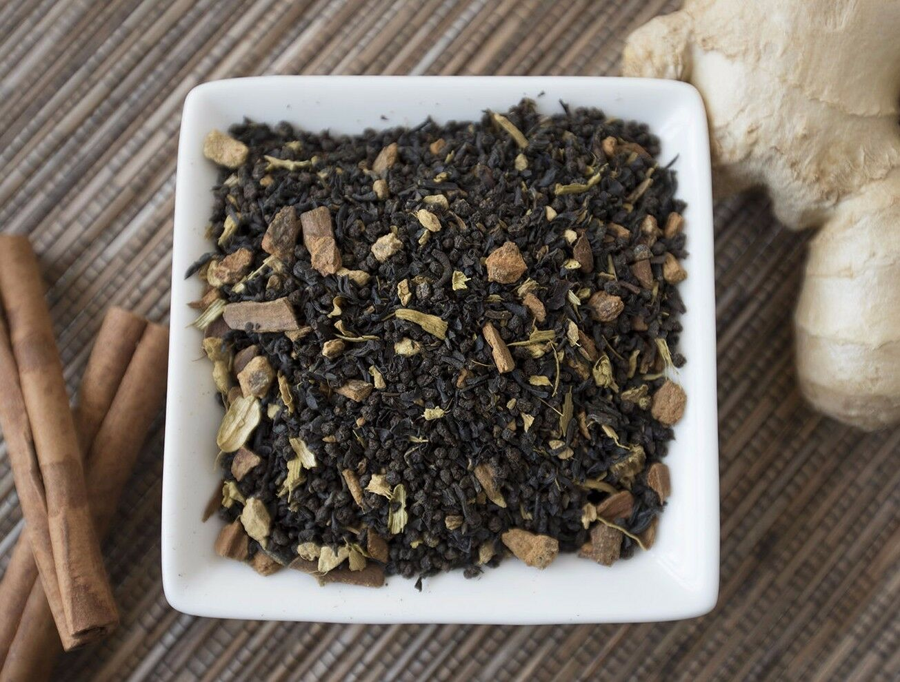 Masala Chai Black Tea Organic loose leaf tea bags healthy sp