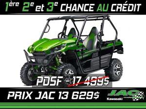 2017 Kawasaki Teryx EPS  LE Seulement 52$/sem. + tx