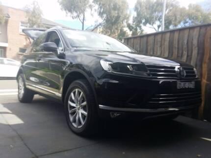 2015 Volkswagen Touareg Wagon - with Factory Warranty Greystanes Parramatta Area Preview