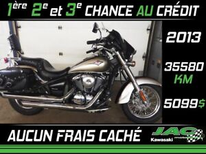 2013 Kawasaki Vulcan 900 Classic 33.21$*/sem** TAXES ET INTÉRÊT