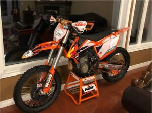2016 KTM 450 SXF with 3.0 recluse and rear left hand brake