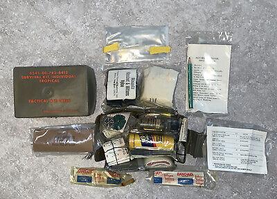USGI Tactical Aircrew Tropical Individual Survival Kit SRU-21/P Vest A-67