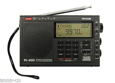 Tecsun PL-600 SSB PLL World Band Radio Receiver FM/MW/SW  >