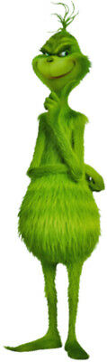 The GRINCH Animated 2018 Movie - Full Body Shot - Window Cling Decal Sticker NEW