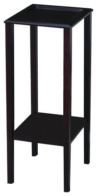 Cappuccino Finish Plant Stand Accent Table By Coaster - Cappuccino Finish Plant Stand