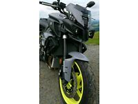 Yamaha mt10 2017 new bike 600mls