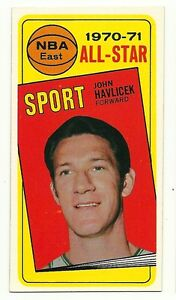 1970 Topps #112 John Havlicek All-Star EX-MT