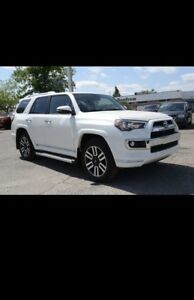 2016 toyota 4runner limited , 7 passenger , mint cond, 2 way RM