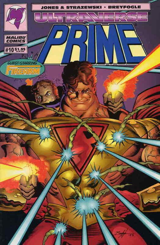 Prime (Vol. 1) #10 VF/NM; Malibu   save on shipping - details inside