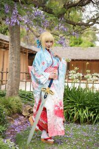 cosplay/saber/kimono Hectorville Campbelltown Area Preview