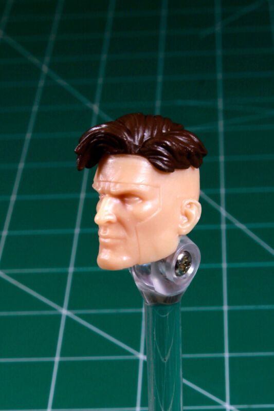 figure 1:12 Gambit Custom Resin long hair Cajun head cast for 6in