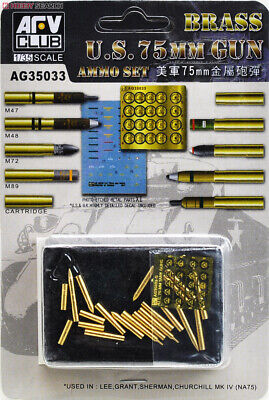 1/35 AFV Club U.S. 75mm Ammunition Set AG35033