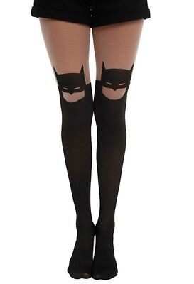 Batman Tights (DC Comics Batman Silhouette Tights Size S/M Cute Sexy New In Package)