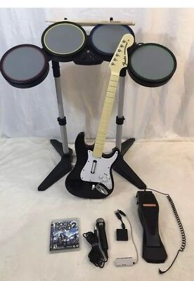 Rock Band Drums, Guitar, Dongle Game Mic Pedal Stand For PS4 PS3 PS2 - Ps3 Game Stand