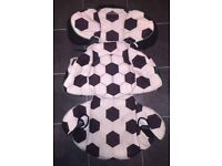 MAXI COSI RODI AP / AIR PROTECT *FOOTBALL SOCCER* CAR SEAT COVER (Spare/replacement) Hibs Hibees!