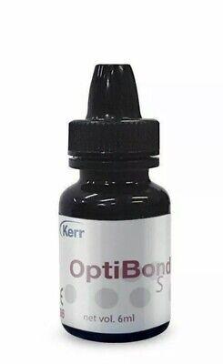 Kerr Optibond S Total Etch Dental Adhesive Bonding Agent 6ml Expires 2022longer