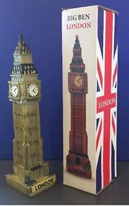 London Big Ben Model 12 Cm Porcelain British Souvenir Gift