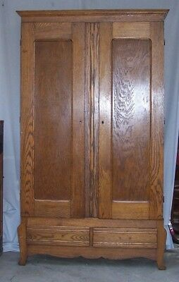 ANTIQUE MARSTALL FURNITURE COMPANY WARDROBE 1893 - 1929 GREAT CONDITION