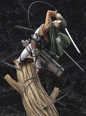 ATTACK ON TITAN - Levi Rivaille Figura 25 cm Ataque a los...